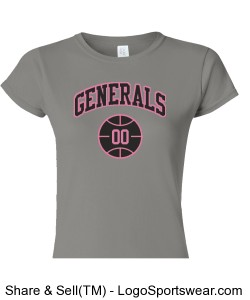 Ladies Grey Design Zoom